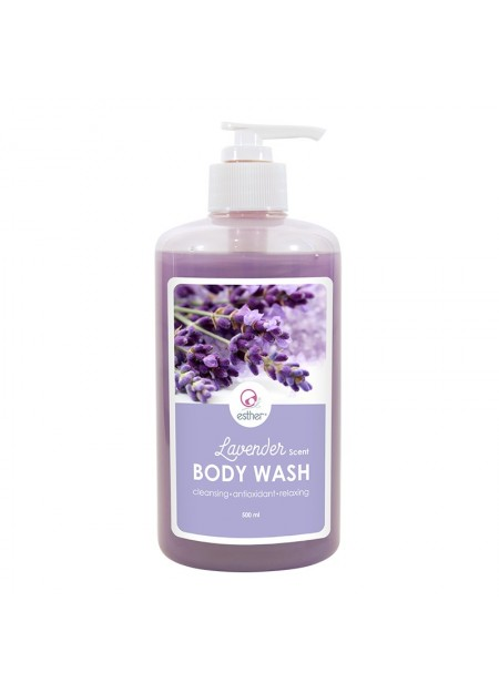 Esther Lavender Scent Body Wash 500ml Pump