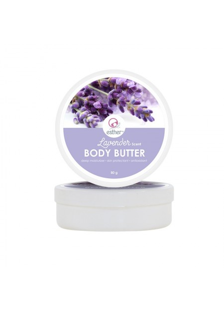 Esther Lavender Scent Body Butter 80gr