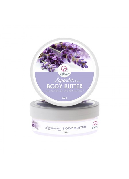 Esther Lavender Scent Body Butter 200gr