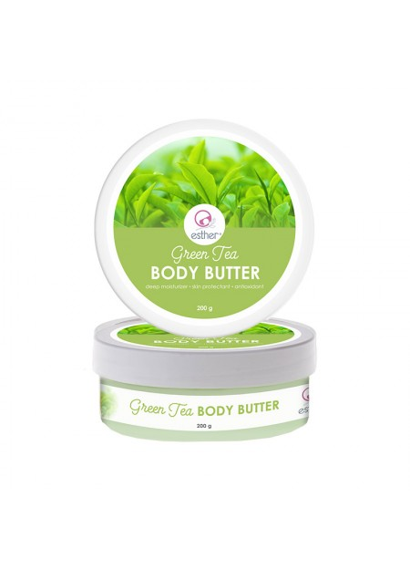 Esther Body Butter Green Tea 200gr