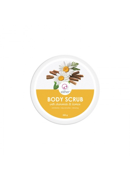 Esther Body Scrub (with chamomile & licorice) 200gr