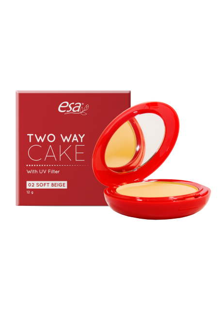 ESA TWO WAY CAKE SOFT BEIGE 12GR (2)