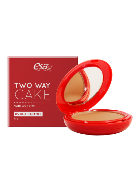 ESA TWO WAY CAKE HOT CARAMEL 12GR (5)