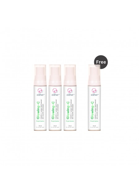 Bundle 3 Free 1 Glowing C 10ml
