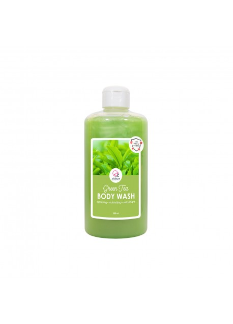 Esther Body Wash Green Tea 500ml