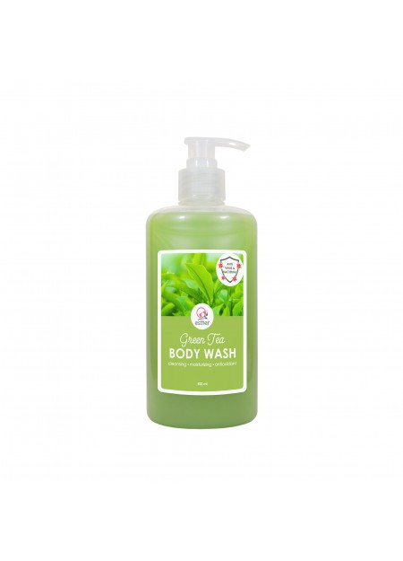 Esther Body Wash Green Tea 500ml Pump