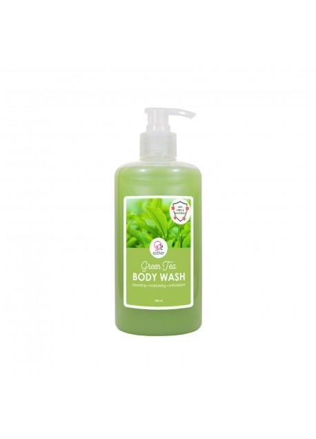 Esther Body Wash Green Tea 500ml Pump