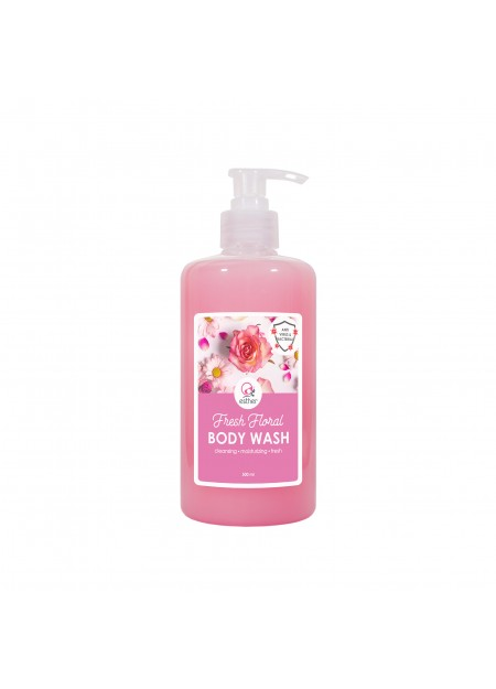 Esther Body Wash Fresh Floral 500ml Pump