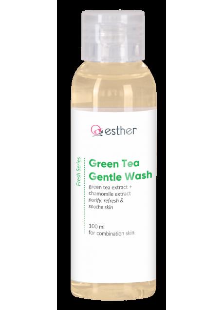 ESTHER GREEN TEA GENTLE WASH 100ML - COMBINATION SKIN