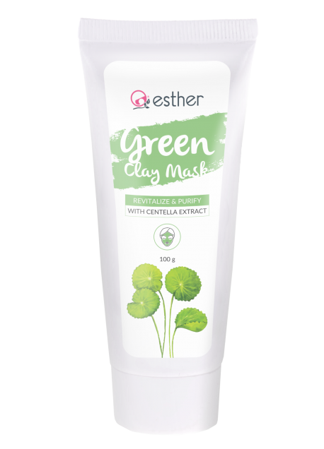 ESTHER GREEN CLAY MASK 100GR